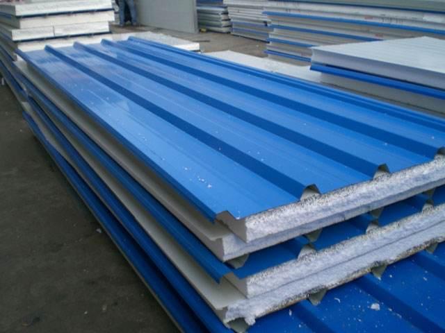 工地建筑材料泡沫夹心铁板,厂家直销泡沫板
