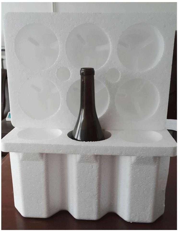 玻璃瓶定位包装材料,泡沫防震定位包装